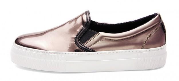 Slippers color oro Frau scarpe autunno inverno 2014 2015