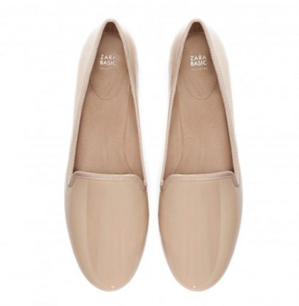 Slippers in vernice Zara autunno inverno 2013 2014