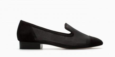 Slippers mesh Zara scarpe autunno inverno 2015