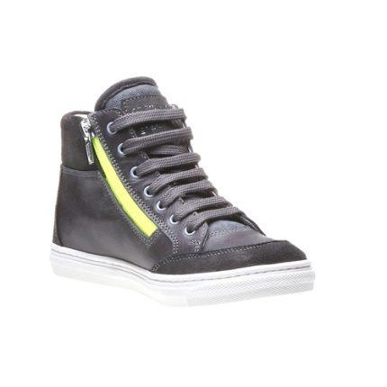 Sneaker alta in pelle Bata scarpe autunno inverno 2015