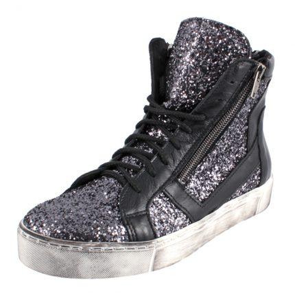 Sneaker basket in glitter Cinti scarpe autunno inverno 2015