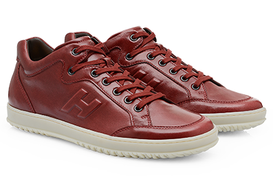 Sneaker in pelle scarpe Hogan autunno inverno