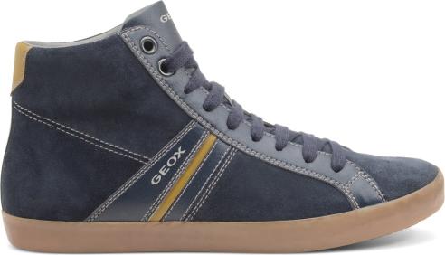 Sneakers alte camoscio Geox scarpe autunno inverno