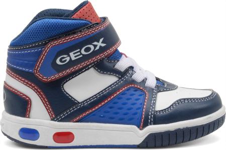Sneakers alte con luci Geox scarpe autunno inverno