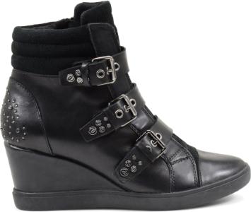 Sneakers alte con zeppa Geox scarpe autunno inverno