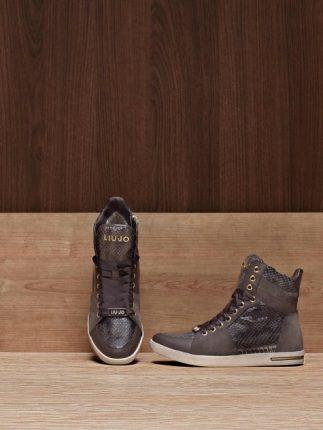 Sneakers alti scarpe Liu Jo autunno inverno 2013 2014