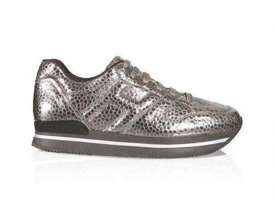 Sneakers argento Hogan autunno inverno 2017
