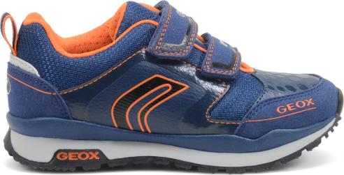 Sneakers blu Geox scarpe autunno inverno