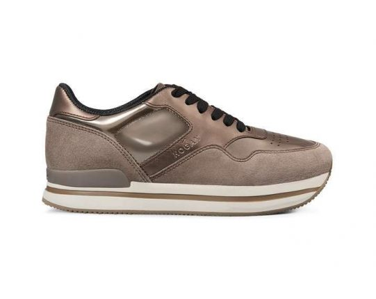 Sneakers bronzo Hogan autunno inverno 2017