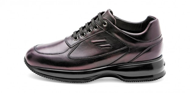 Sneakers burgundy Frau scarpe autunno inverno 2014 2015