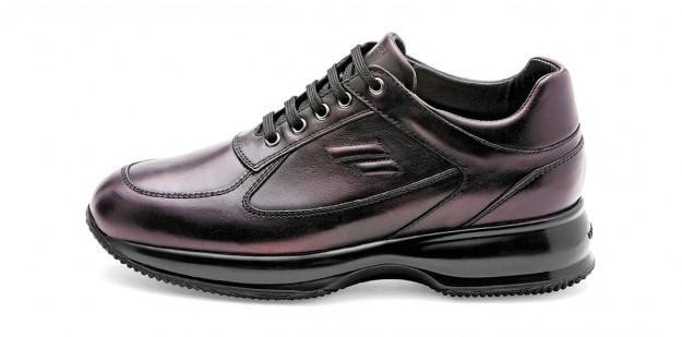 Sneakers burgundy Frau scarpe autunno inverno 2014 2015