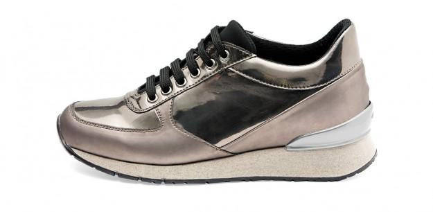 Sneakers color acciaio Frau scarpe autunno inverno 2014 2015