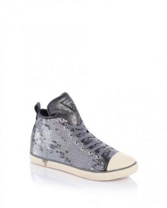 Sneakers con paillettes Guess scarpe autunno inverno 2015