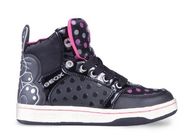 Sneakers con pois Geox scarpe autunno inverno