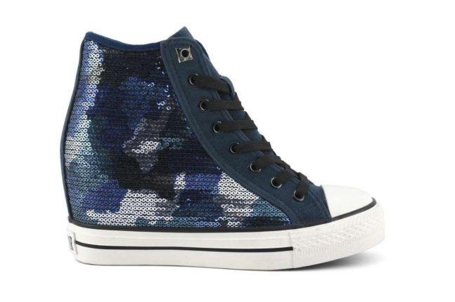 Sneakers con zeppa Cafè Noir autunno inverno 2017