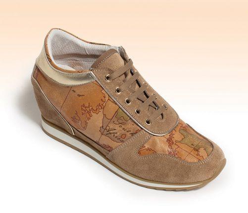 Sneakers con zeppa interna Alviero Martini 1a Classe primavera estate 2014