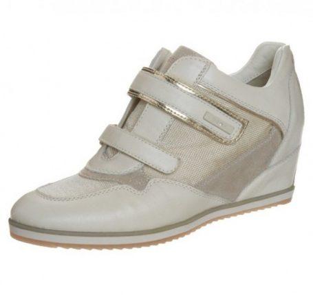 Sneakers con zeppa interna Geox primavera estate