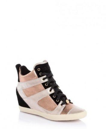 Sneakers con zeppa interna Guess scarpe autunno inverno 2015