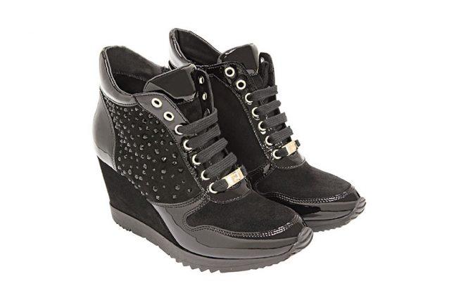 Sneakers con zeppa Tosca Blu scarpe autunno inverno 2015