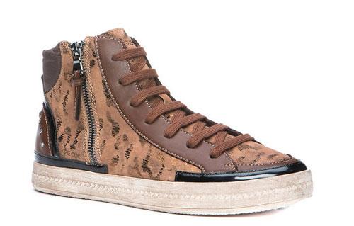 Sneakers con zip Geox scarpe autunno inverno
