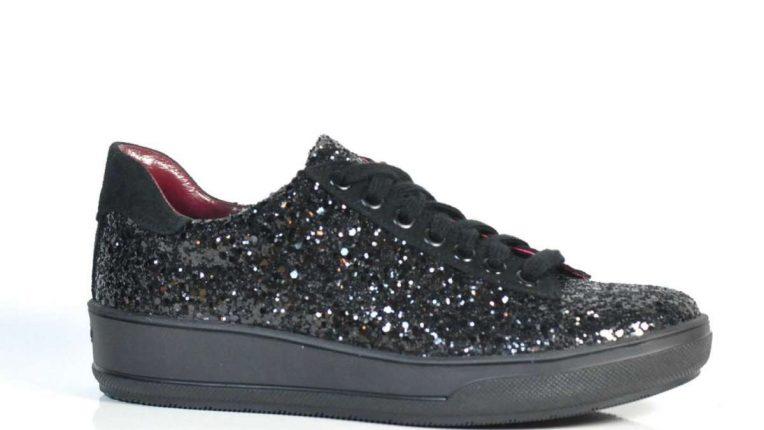 Sneakers glitter Albano autunno inverno 2017