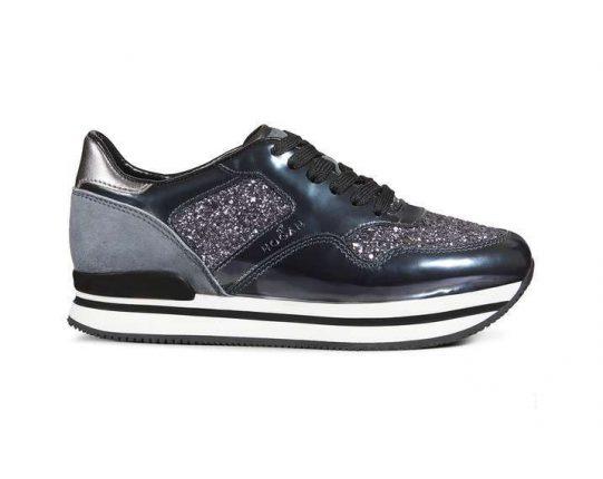 Sneakers glitter Hogan autunno inverno 2017