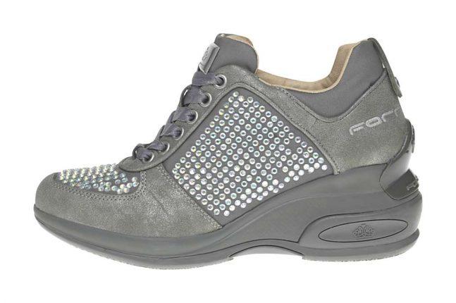 Sneakers griggio Fornarina scarpe autunno inverno 2015