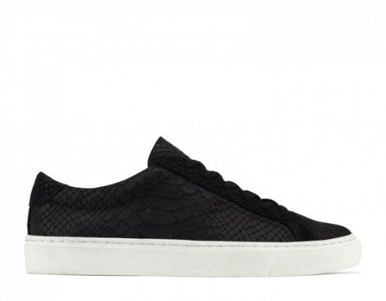 Sneakers in pelle nera Aldo scarpe autunno inverno 2015