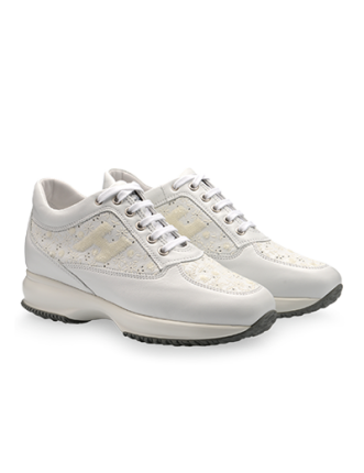 Sneakers interative in pelle Hogan primavera estate
