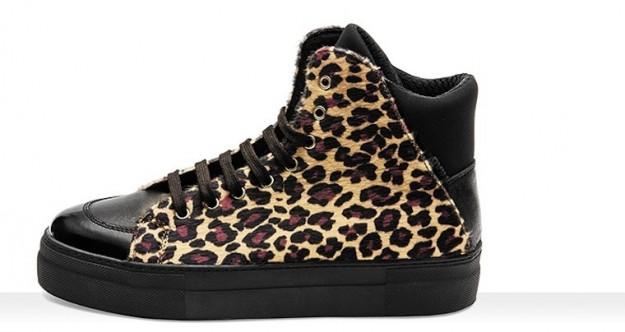 Sneakers leopardate Frau scarpe autunno inverno 2014 2015