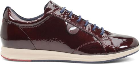 Sneakers lucide Geox scarpe autunno inverno