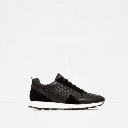 Sneakers nere Zara autunno inverno 2017