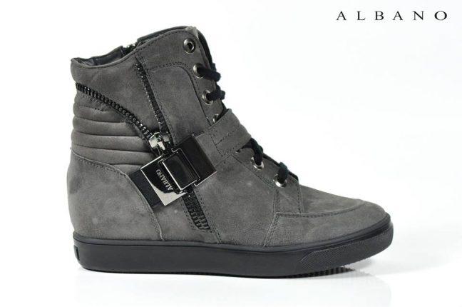 Sneakers pelle Albano scarpe autunno inverno 2015