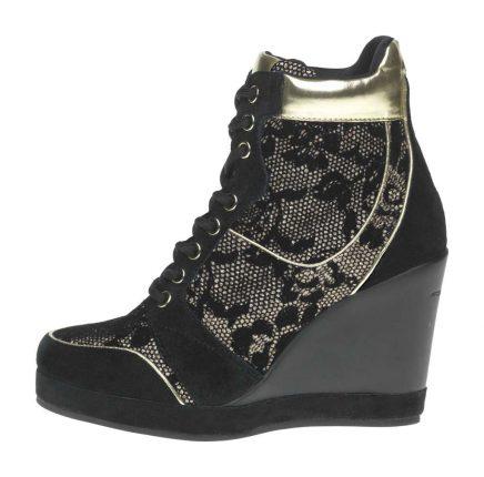 Sneakers pizzo Fornarina scarpe autunno inverno 2015