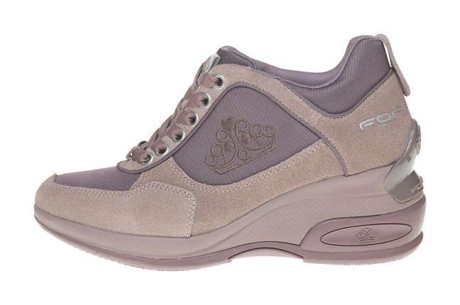 Sneakers rialzate Fornarina scarpe autunno inverno 2015