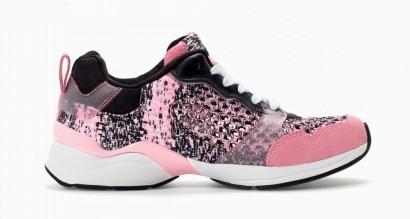 Sneakers rosa Zara scarpe autunno inverno 2015