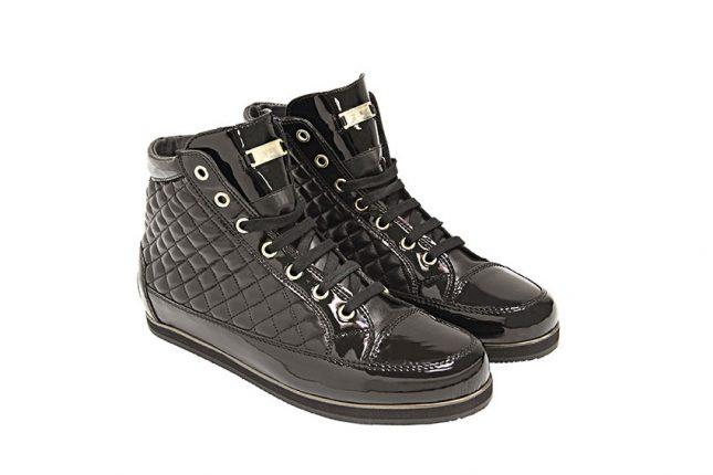 Sneakers trapuntati Tosca Blu scarpe autunno inverno 2015