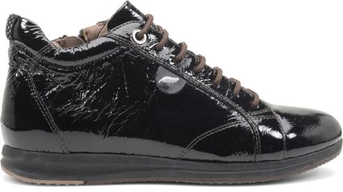 Sneakers vernice Geox scarpe autunno inverno