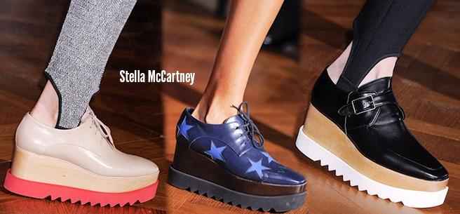 Stella McCartney scarpe catalogo autunno inverno 2014 2015