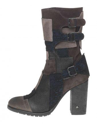 Stivale con fibbie Fornarina scarpe autunno inverno 2015