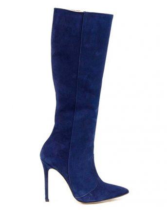 Stivale in camoscio con zip Islo scarpe autunno inverno 2015