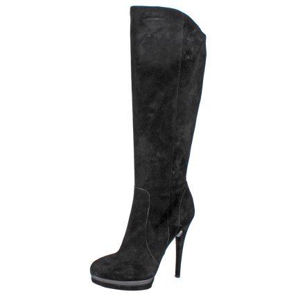 Stivale stiletto in camoscio Cinti scarpe autunno inverno 2015