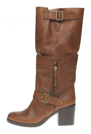 Stivale tacco largo Fornarina scarpe autunno inverno 2015
