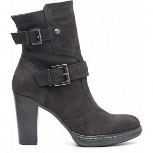 Stivaletti con fibbie Nero Giardini scarpe autunno inverno 2015