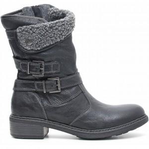 Stivaletti con pelliccia Nero Giardini scarpe autunno inverno 2015