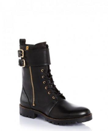 Stivaletti con zip e fibbie Guess scarpe autunno inverno 2015