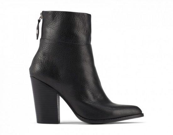 Stivaletti neri con mezzo tacco Aldo scarpe autunno inverno 2015