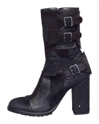 Stivaletti neri Fornarina scarpe autunno inverno 2015