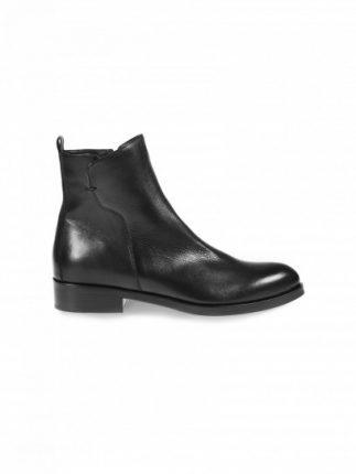 Stivaletti neri in pelle Janet & Janet scarpe autunno inverno 2015