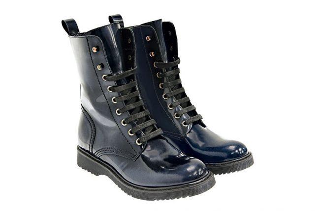 Stivaletti stringati Tosca Blu scarpe autunno inverno 2015